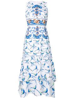 платье с рисунком Peter Pilotto