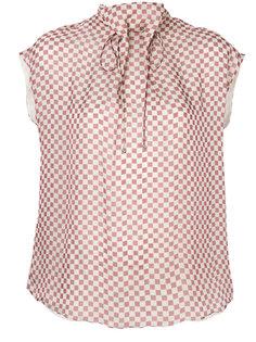 блузка в клетку  Giorgio Armani