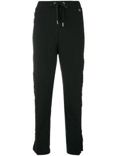 спортивные брюки с кружевной отделкой  Twin-Set