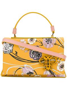 сумка-тоут с цветочным мотивом Emilio Pucci