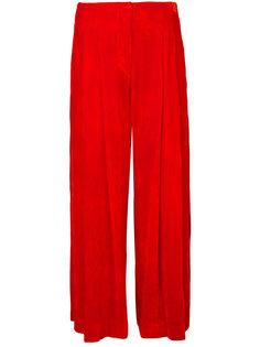 широкие укороченные брюки Raquel Allegra