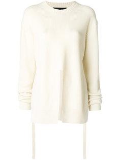 свитер с разрезом спереди Proenza Schouler