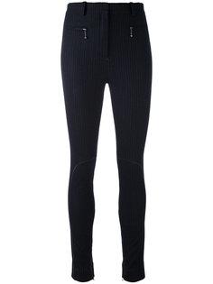 брюки скинни в полоску Nina Ricci