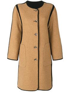 двустороннее пальто без воротника Etro
