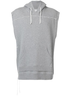 свитер с капюшоном без рукавов Maison Margiela