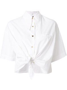 укороченная рубашка свободного кроя Romeo Gigli Vintage