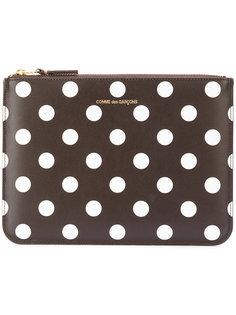 polka dot print pouch wallet Comme Des Garçons