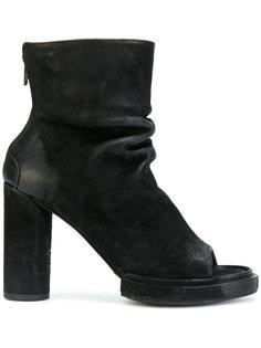 ботинки по щиколотку с открытым носком The Last Conspiracy