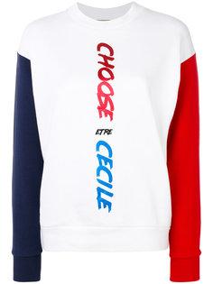 colour block sweatshirt Être Cécile