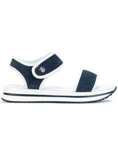 сандалии на рельефной подошве Armani Jeans