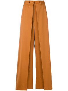двухслойные брюки Mm6 Maison Margiela