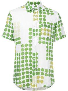 рубашка с короткими рукавами Yohji Yamamoto Vintage