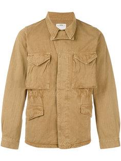легкая куртка с надписью на спине Visvim