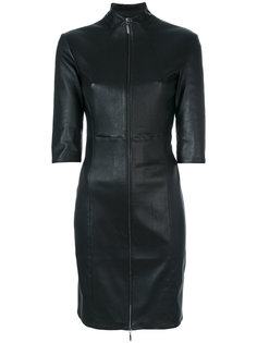 three-quarters sleeve fitted dress Arma