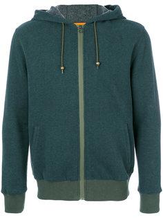 print badges zip hoodie Mr & Mrs Italy