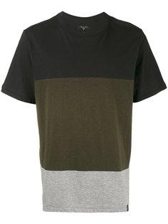 футболка Precision в стиле колор-блок Rag & Bone