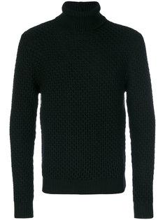 свитер геометрической вязки Eleventy