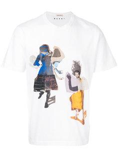 футболка Sally Smart Marni