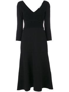 расклешенное платье Agnona