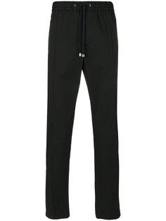 спортивные брюки со шнуровкой  Dolce & Gabbana