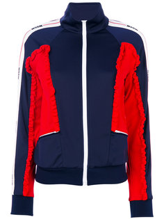 спортивная куртка со сборками MSGM