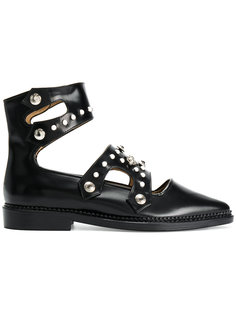 ботинки декорированные заклепками Toga Pulla