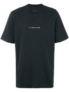 футболка с принтом clouded Oamc