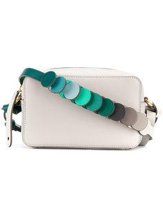 сумка через плечо с декоративными кругами на лямке Anya Hindmarch