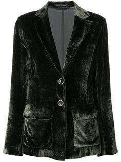 velvet look blazer Luisa Cerano