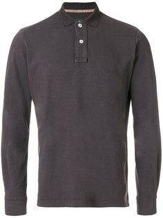 футболка-поло с длинными рукавами Eleventy