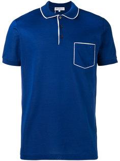 рубашка-поло с нагрудным карманом Salvatore Ferragamo
