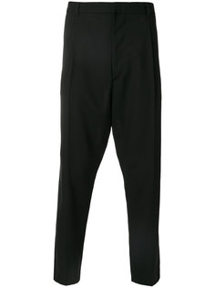 drop-crotch trousers Ann Demeulemeester Grise