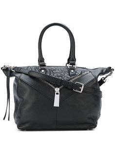 сумка-тоут с декоративной молнией Diesel
