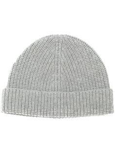 ribbed beanie hat Lanvin