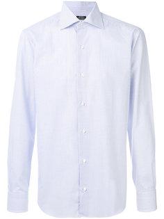 классическая рубашка с мелким узором Barba