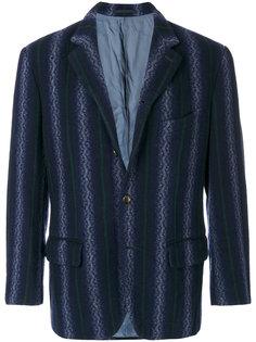 пиджак в полоску  Comme Des Garçons Vintage