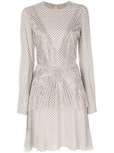 декорированное платье с мелким принтом Stella McCartney