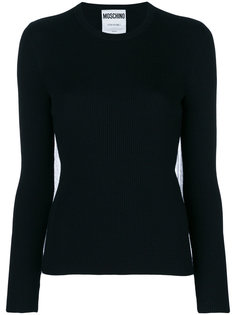 tulle back sweater Moschino