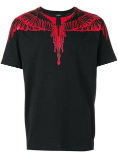 футболка с рисунком Marcelo Burlon County Of Milan
