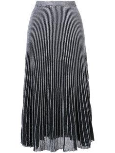 плиссированная юбка миди Proenza Schouler