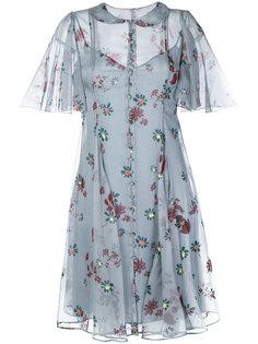 платье Flowers Fall Valentino