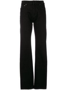 джинсы с вышивкой змеи Marcelo Burlon County Of Milan