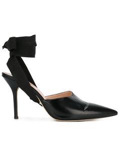 туфли с лентой на щиколотке Christopher Kane