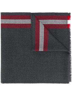 шарф в полоску Bally