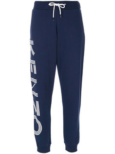 спортивные брюки с графическим принтом  Kenzo
