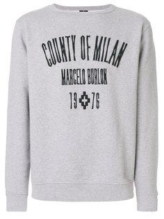 толстовка с круглым вырезом Jak  Marcelo Burlon County Of Milan
