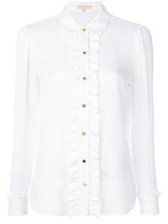 блузка с длинными рукавами и оборкой  Michael Michael Kors