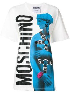 футболка с графическим логотипом  Moschino