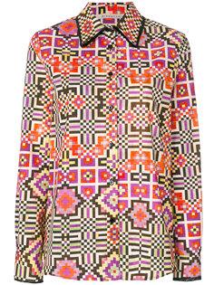 рубашка с принтом Pixel Miahatami