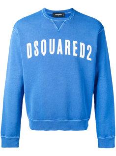 толстовка с логотипом бренда Dsquared2